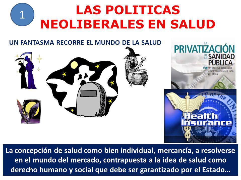 LAS POLITICAS NEOLIBERALES EN SALUD