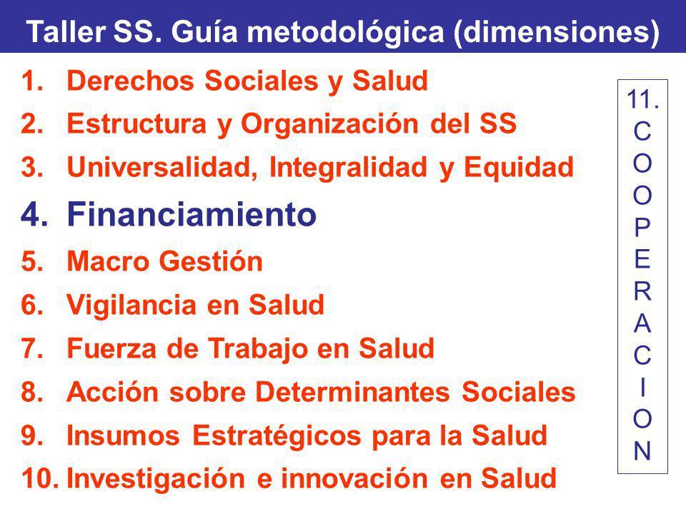 Taller SS. Guía metodológica (dimensiones)
