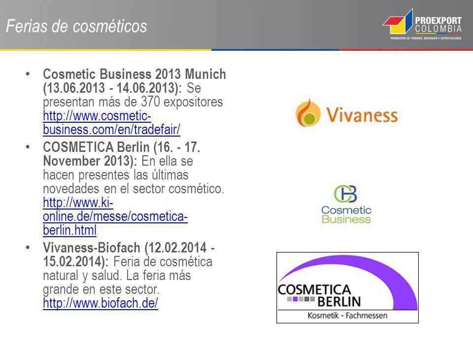Ferias de cosméticos