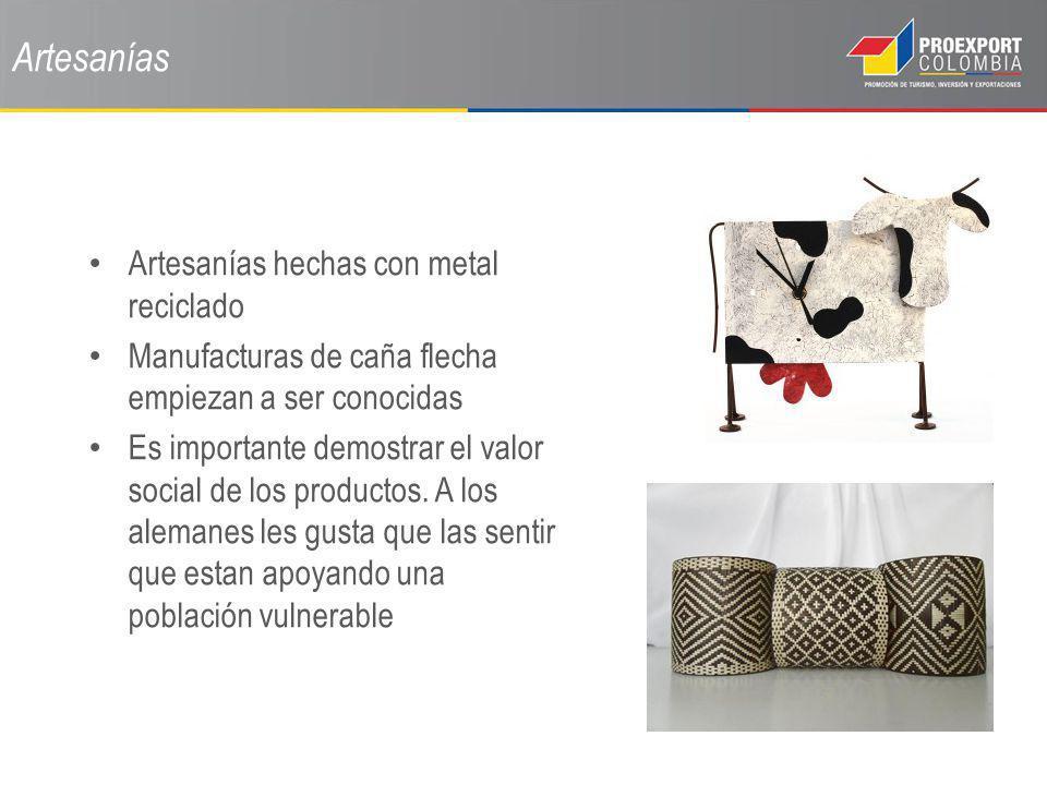 Artesanías Artesanías hechas con metal reciclado