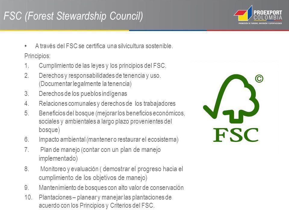 FSC (Forest Stewardship Council)