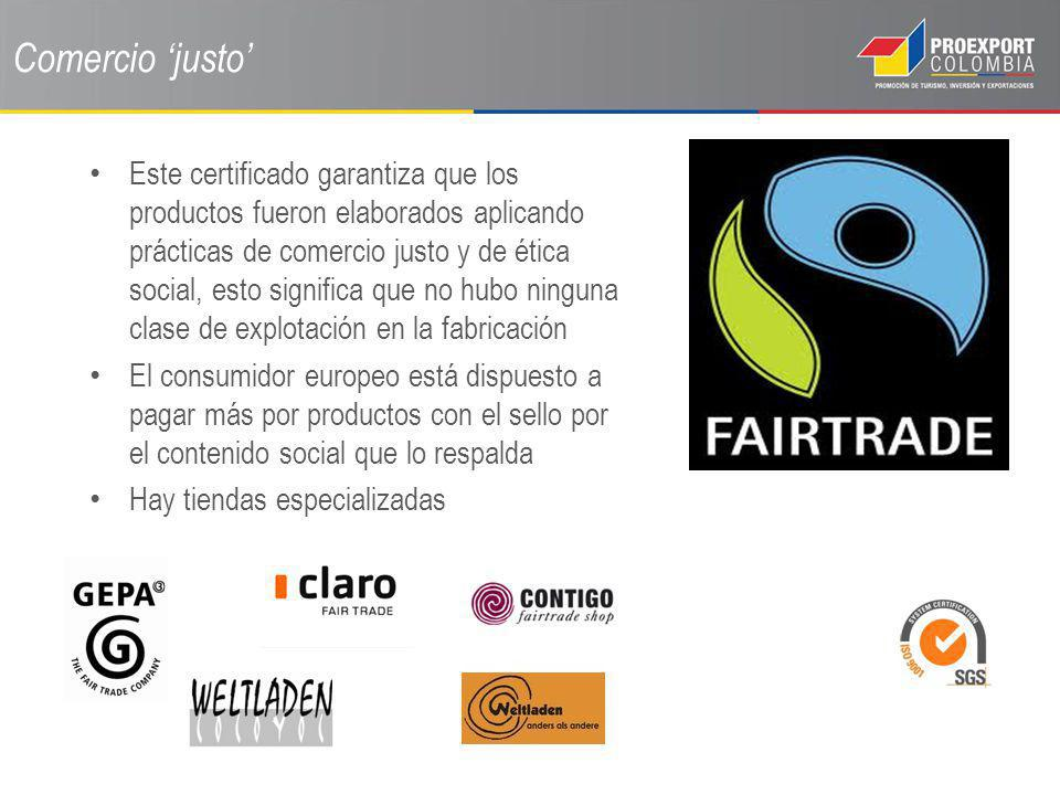 Comercio 'justo'
