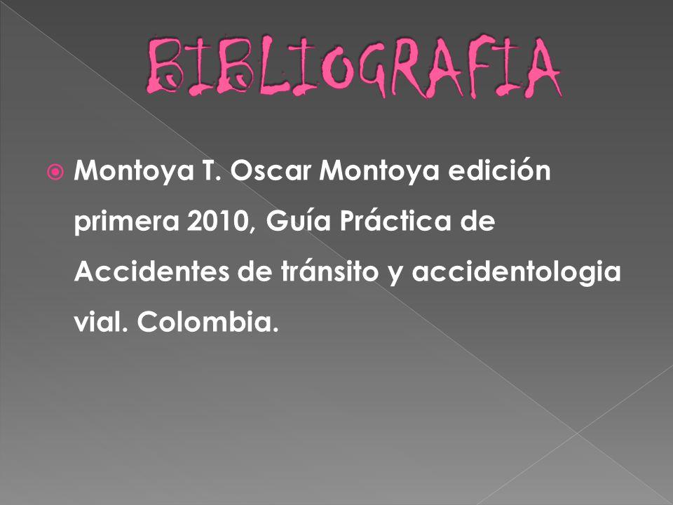 BIBLIOGRAFIA Montoya T.