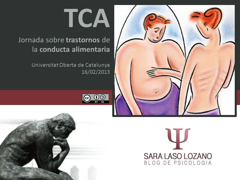 TCA Jornada sobre trastornos de la conducta alimentaria