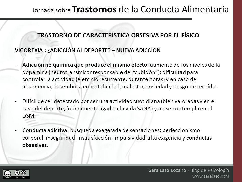 TRASTORNO DE CARACTERÍSTICA OBSESIVA POR EL FÍSICO