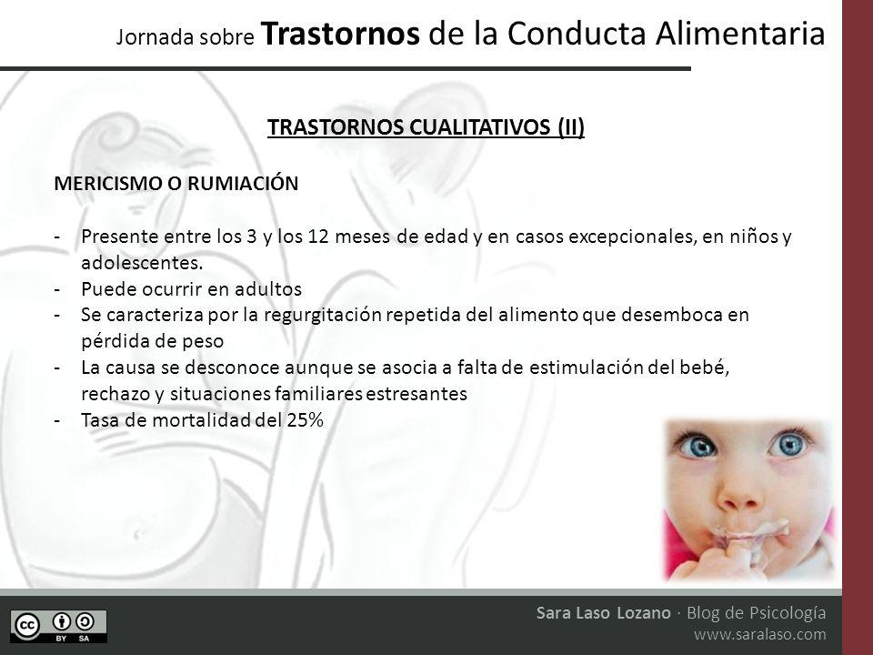TRASTORNOS CUALITATIVOS (II)
