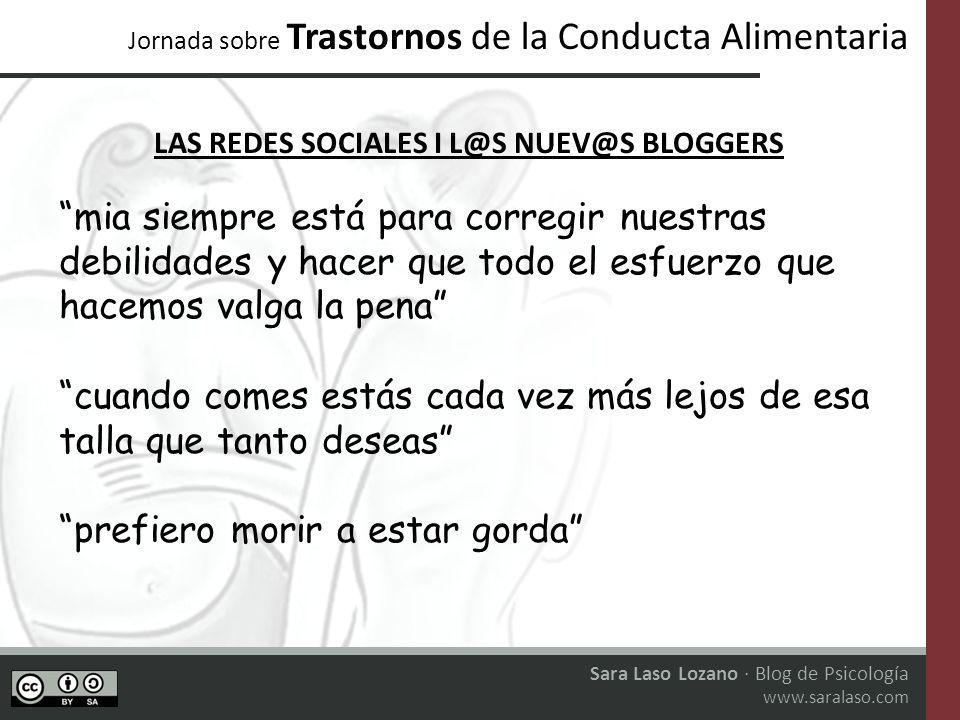 LAS REDES SOCIALES I L@S NUEV@S BLOGGERS