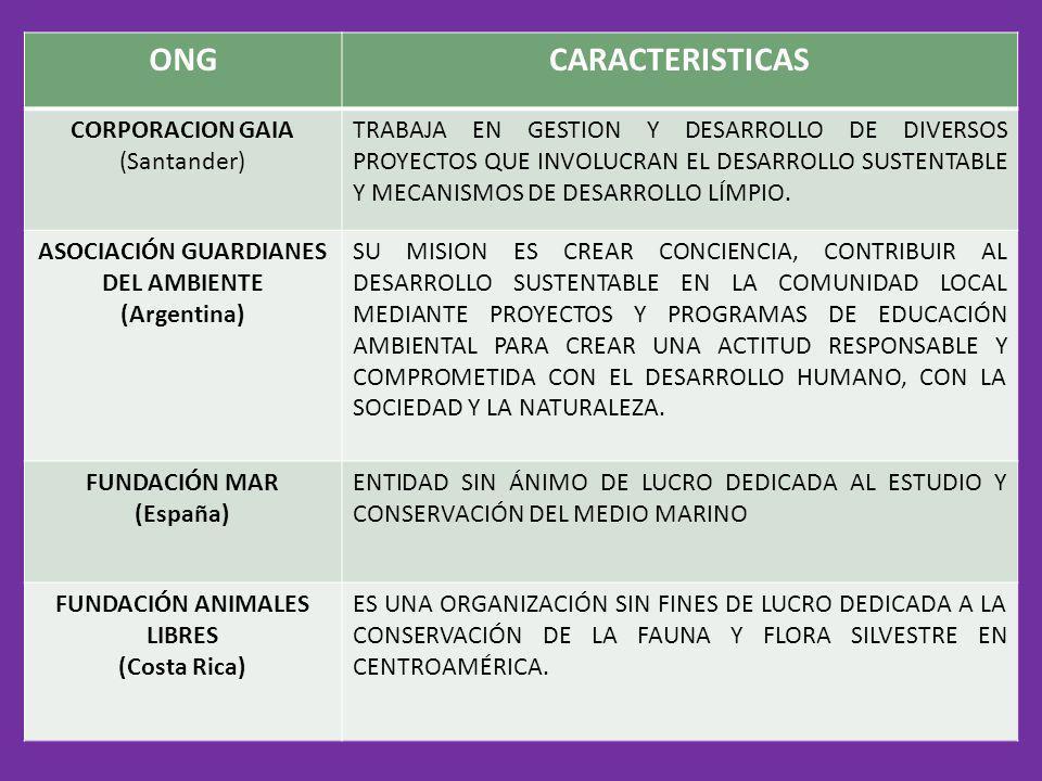 ASOCIACIÓN GUARDIANES DEL AMBIENTE FUNDACIÓN ANIMALES LIBRES