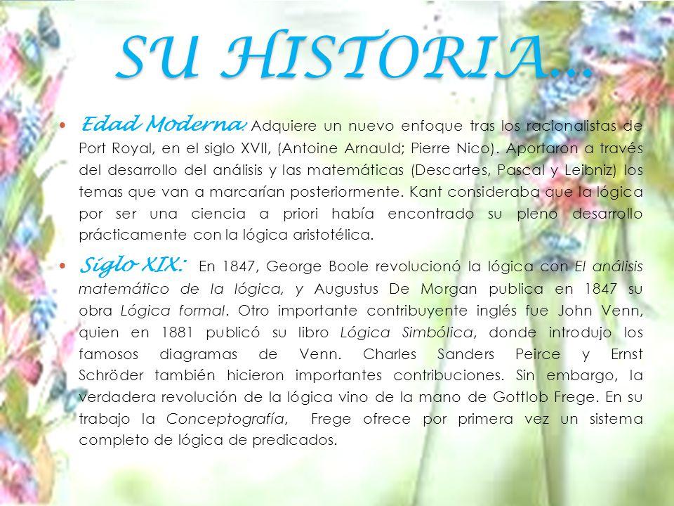 SU HISTORIA...