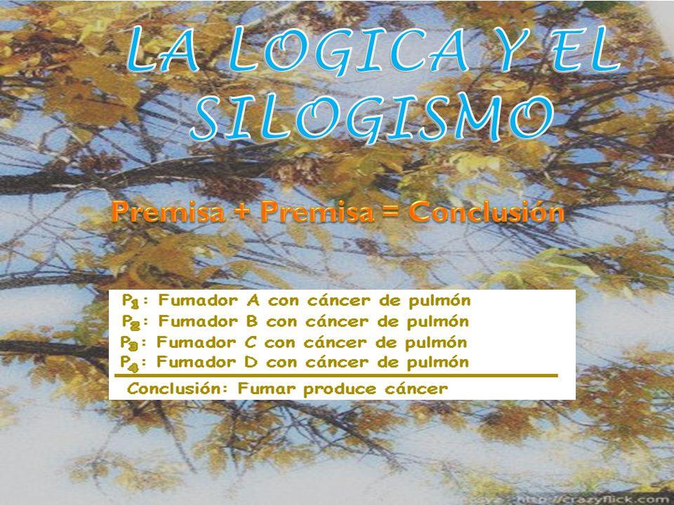LA LOGICA Y EL SILOGISMO