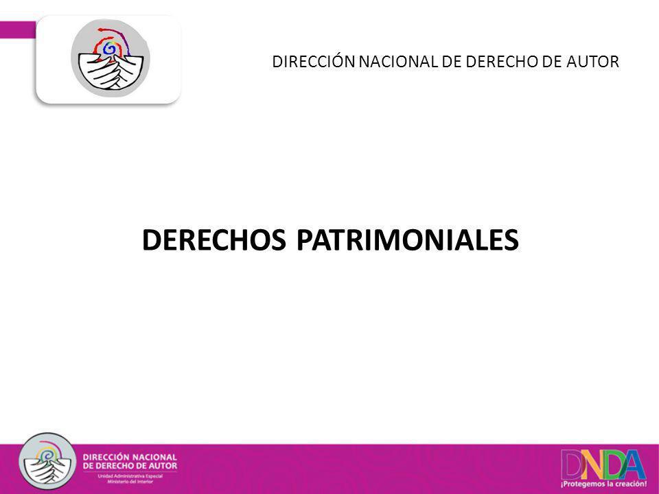 DIRECCIÓN NACIONAL DE DERECHO DE AUTOR