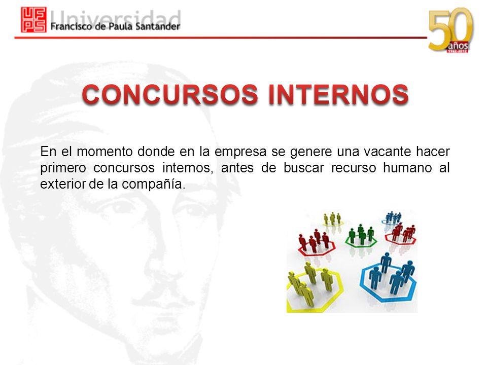 CONCURSOS INTERNOS