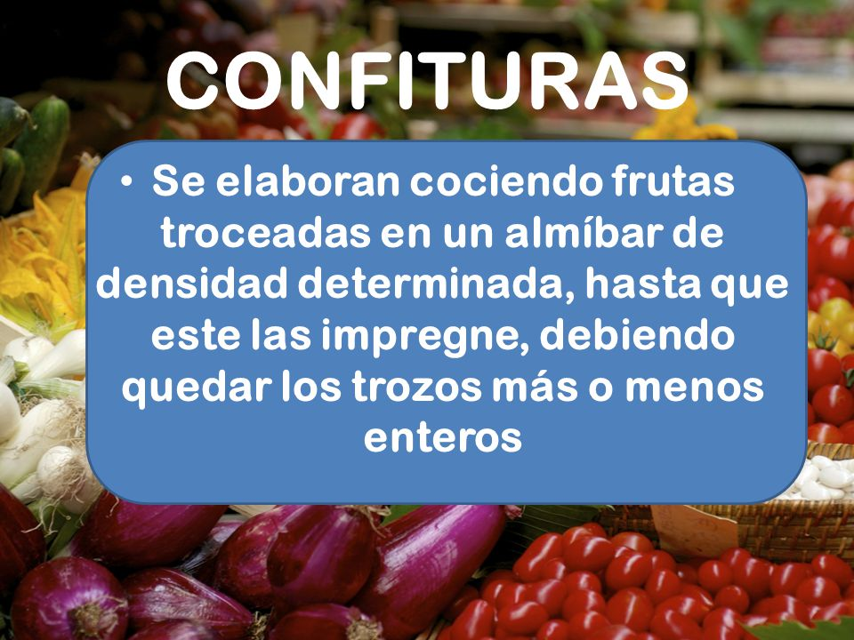 CONFITURAS