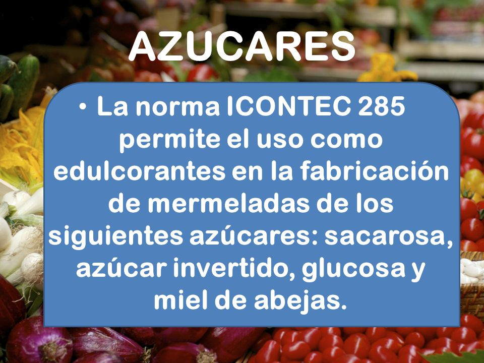 AZUCARES
