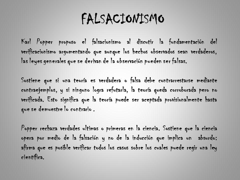 FALSACIONISMO