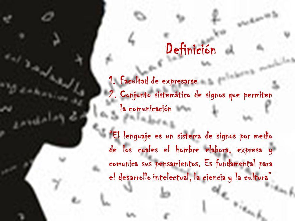 Definición Facultad de expresarse