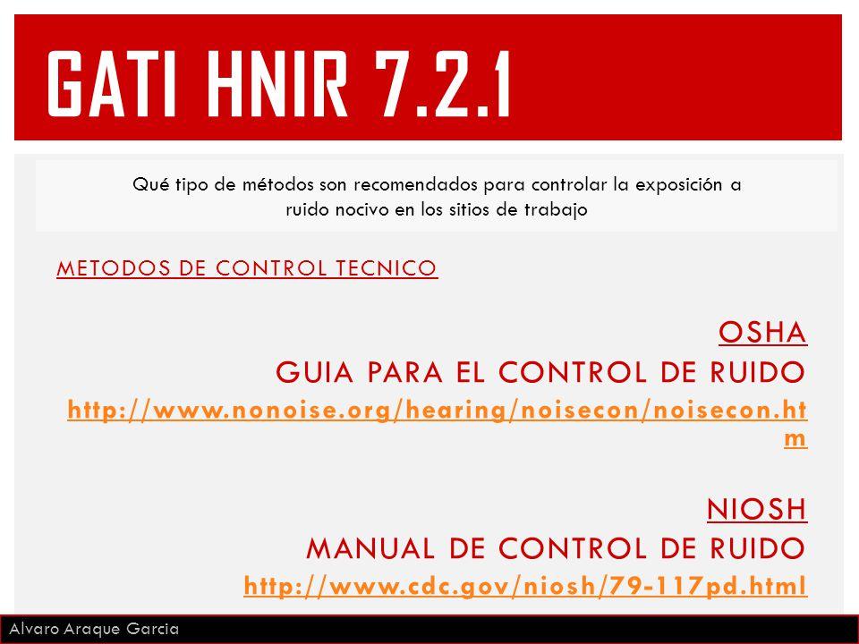 GATI HNIR 7.2.1 OSHA GUIA PARA EL CONTROL DE RUIDO NIOSH