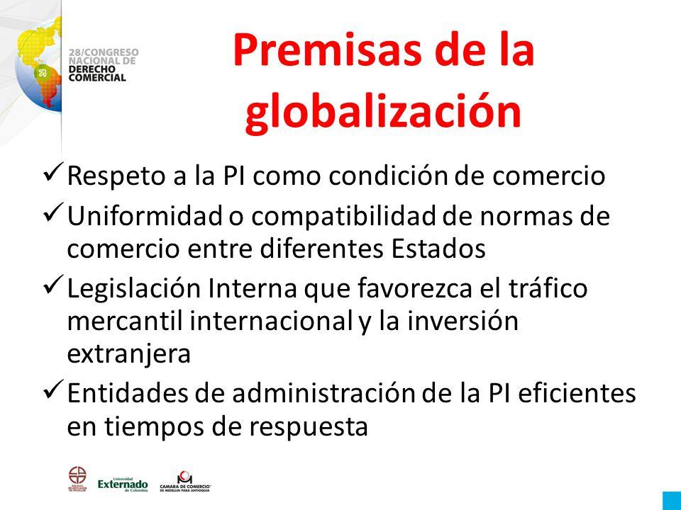 Premisas de la globalización