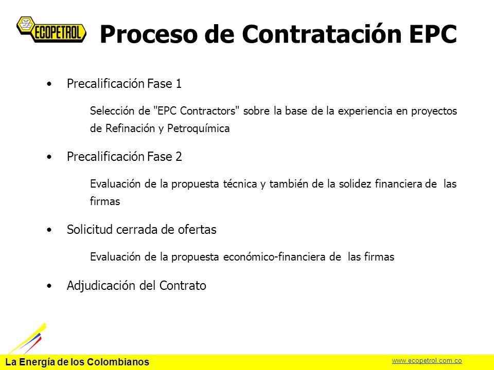 Proceso de Contratación EPC