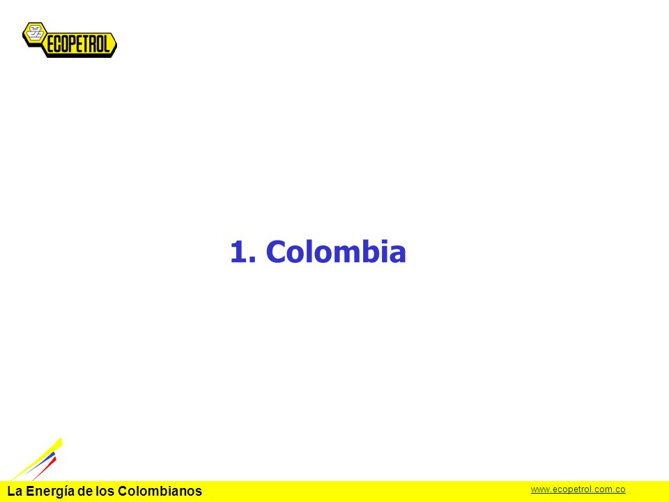 1. Colombia