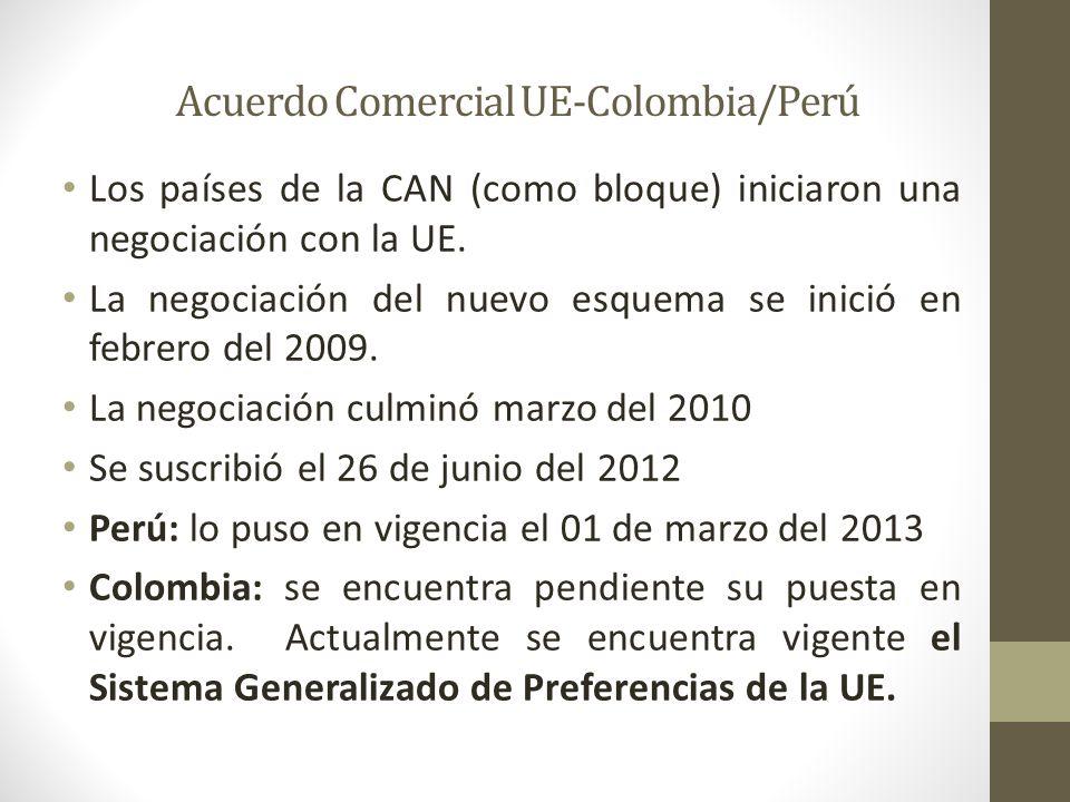 Acuerdo Comercial UE-Colombia/Perú