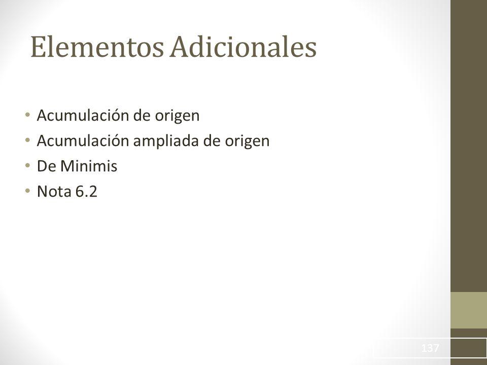 Elementos Adicionales