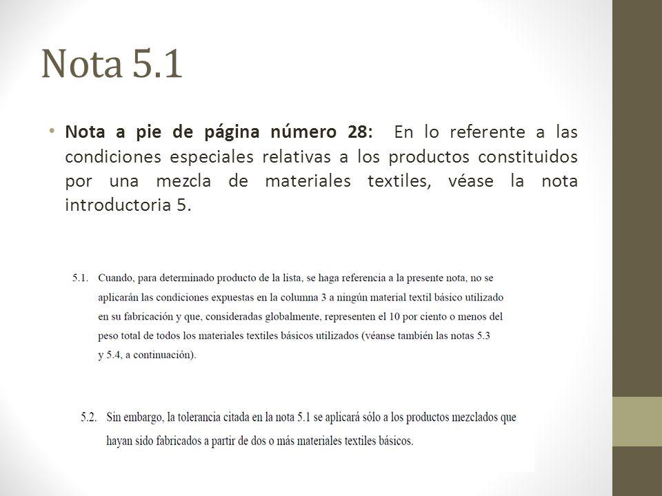 Nota 5.1