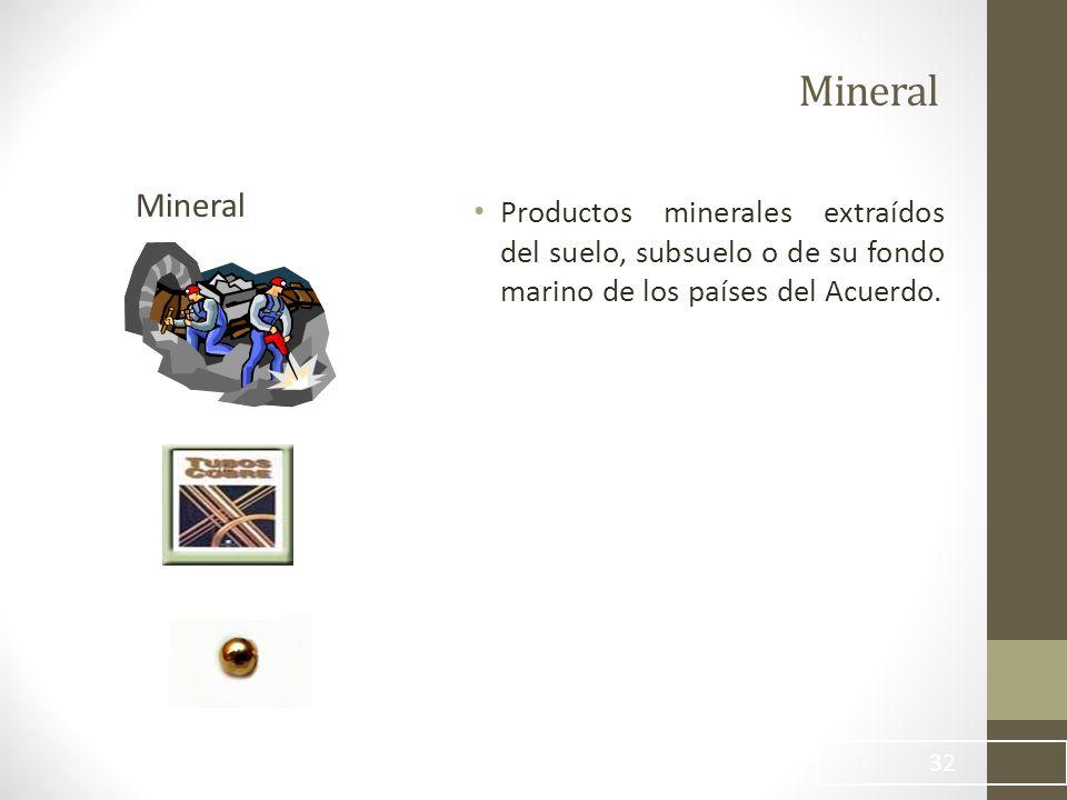 Mineral Mineral.