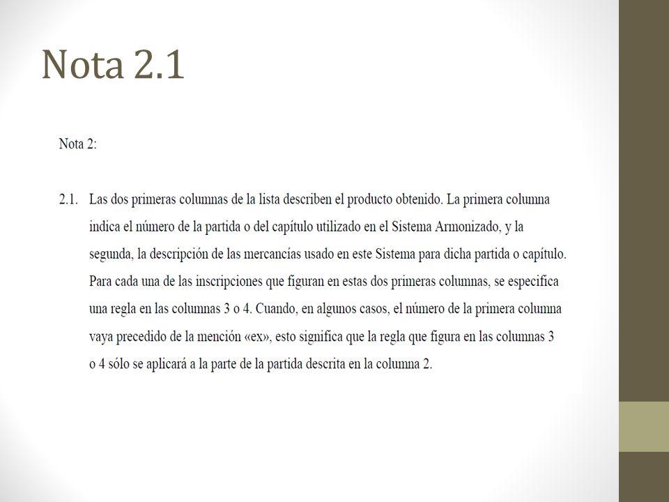 Nota 2.1