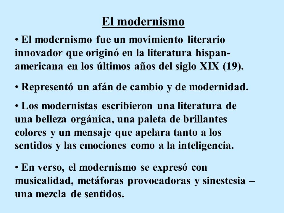 cheapest price lowest discount the cheapest El modernismo El modernismo fue un movimiento literario ...