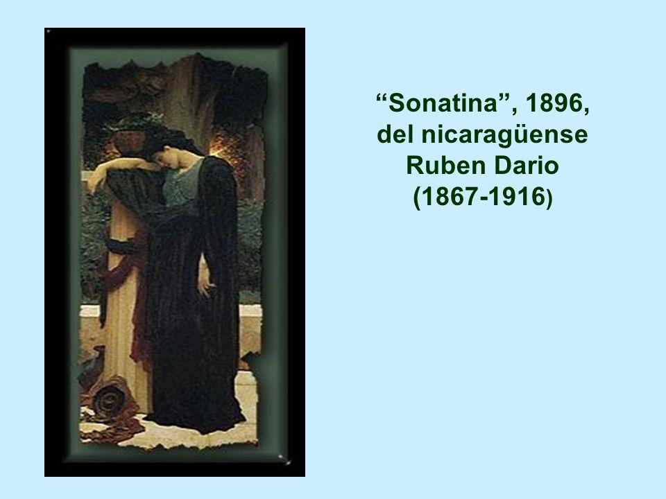 del nicaragüense Ruben Dario (1867-1916)