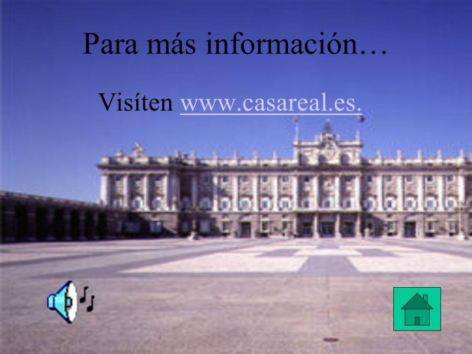 Visíten www.casareal.es.