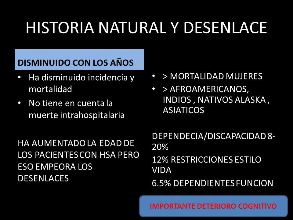 HISTORIA NATURAL Y DESENLACE