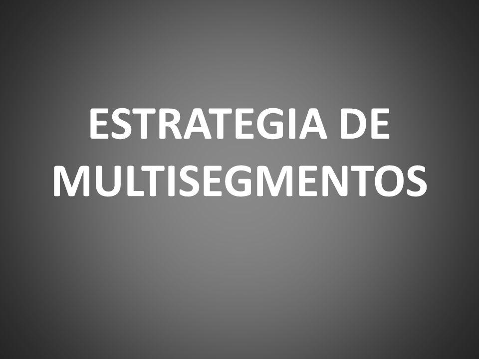 ESTRATEGIA DE MULTISEGMENTOS