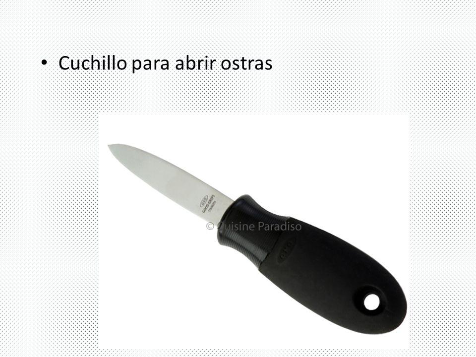 Cuchillo para abrir ostras