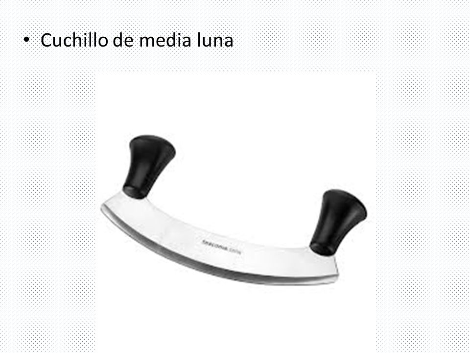 Cuchillo de media luna