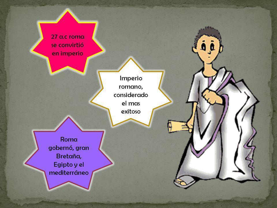 27 a.c roma se convirtió en imperio