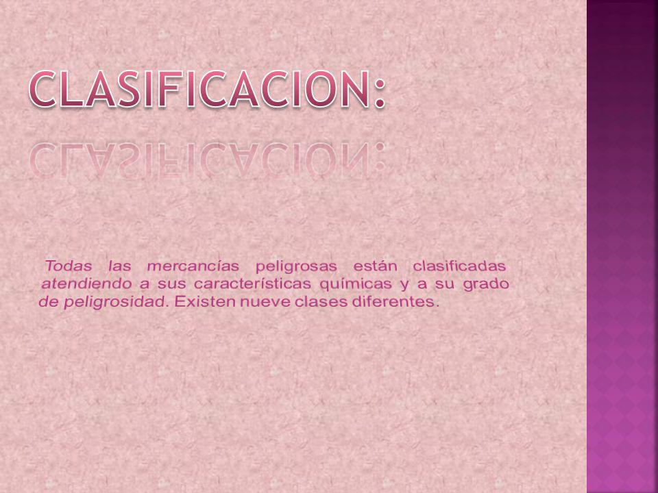 CLASIFICACION: