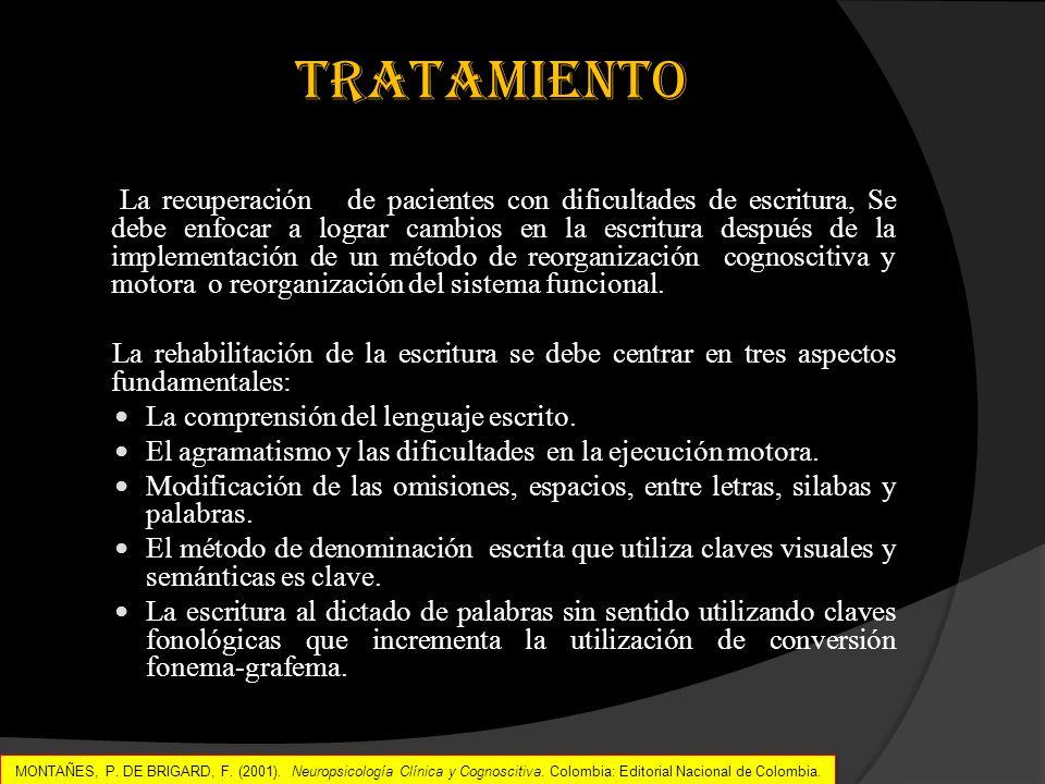 MONTAÑEZ, P. DE BRIGARD, F. Neuropsicología Clínica y Cognoscitiva