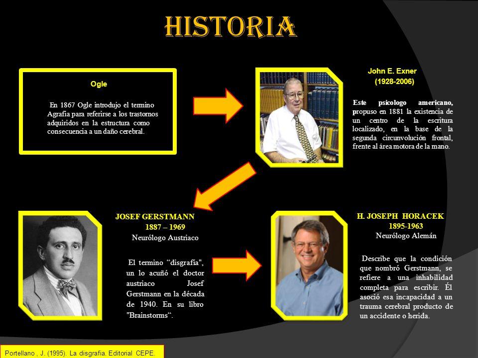 HISTORIA John E. Exner. (1928-2006)