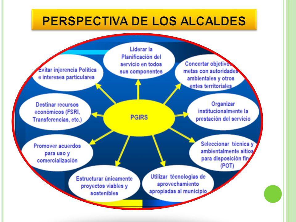 PERSPECTIVA DE LOS ALCALDES