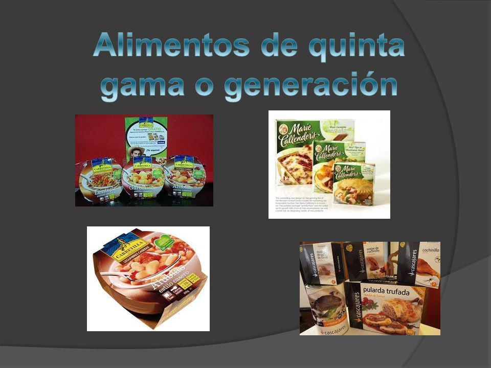 Alimentos de quinta gama o generación
