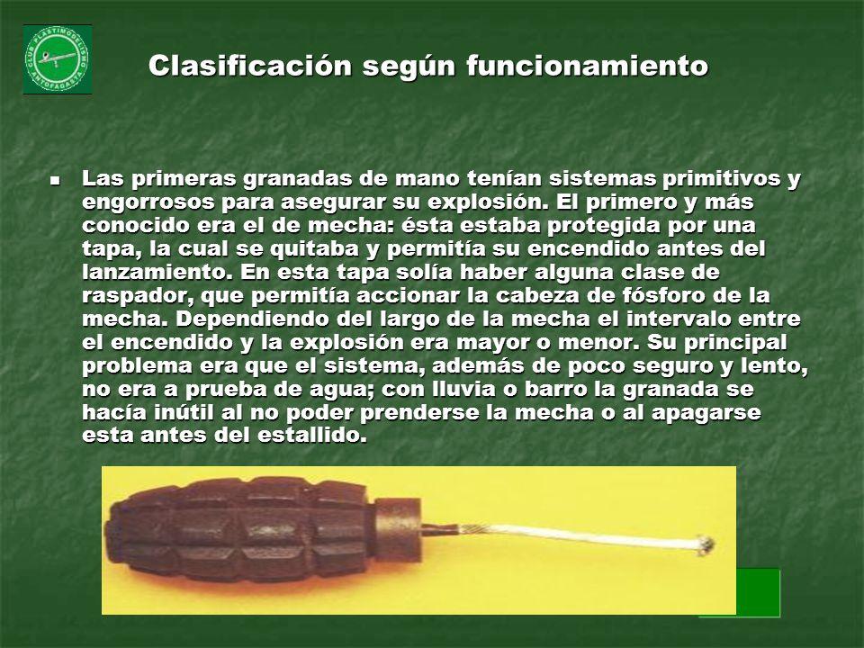 Clasificación según funcionamiento
