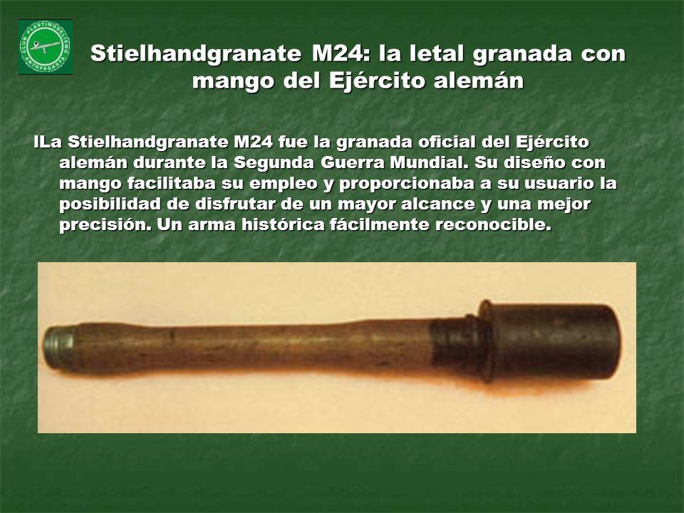 Stielhandgranate M24: la letal granada con mango del Ejército alemán