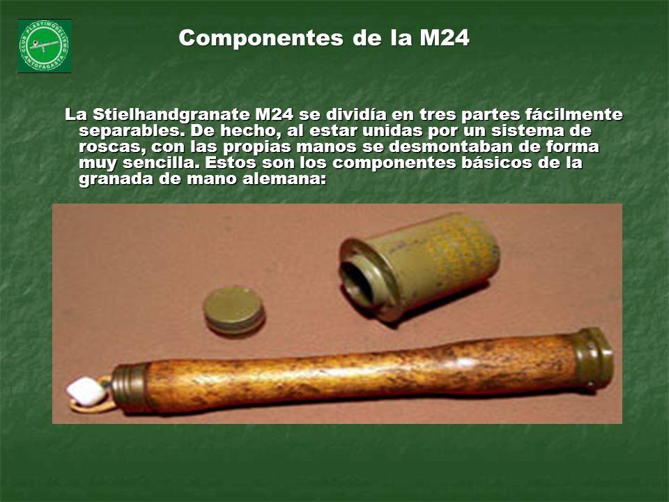 Componentes de la M24