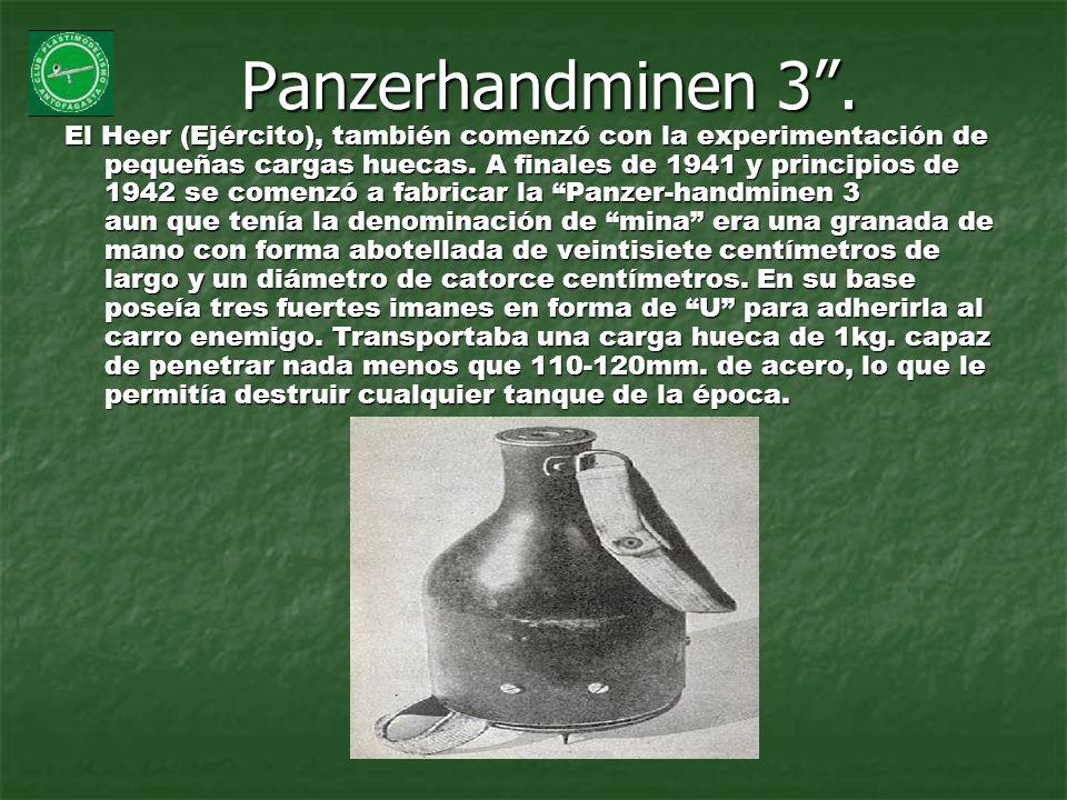 Panzerhandminen 3 .