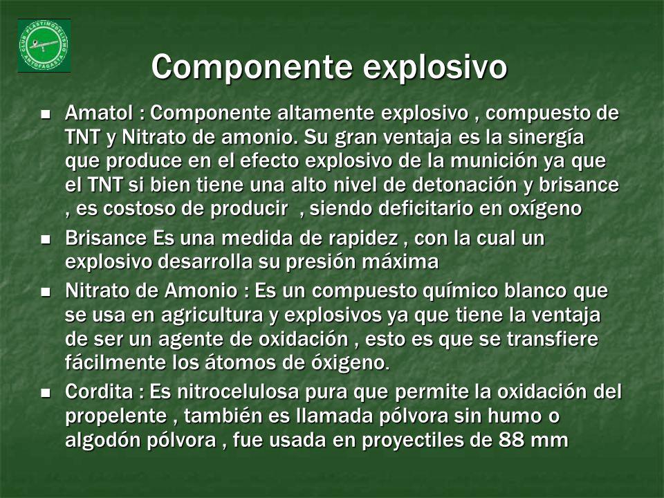 Componente explosivo