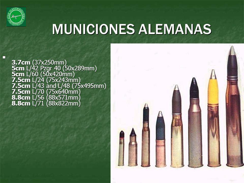 MUNICIONES ALEMANAS