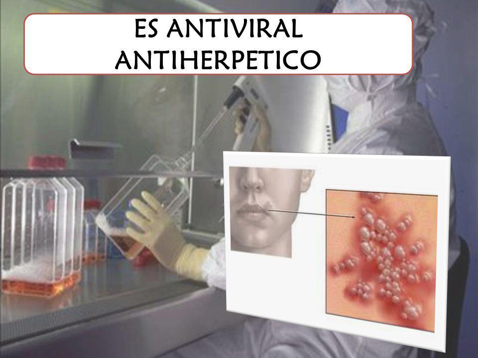 ES ANTIVIRAL ANTIHERPETICO