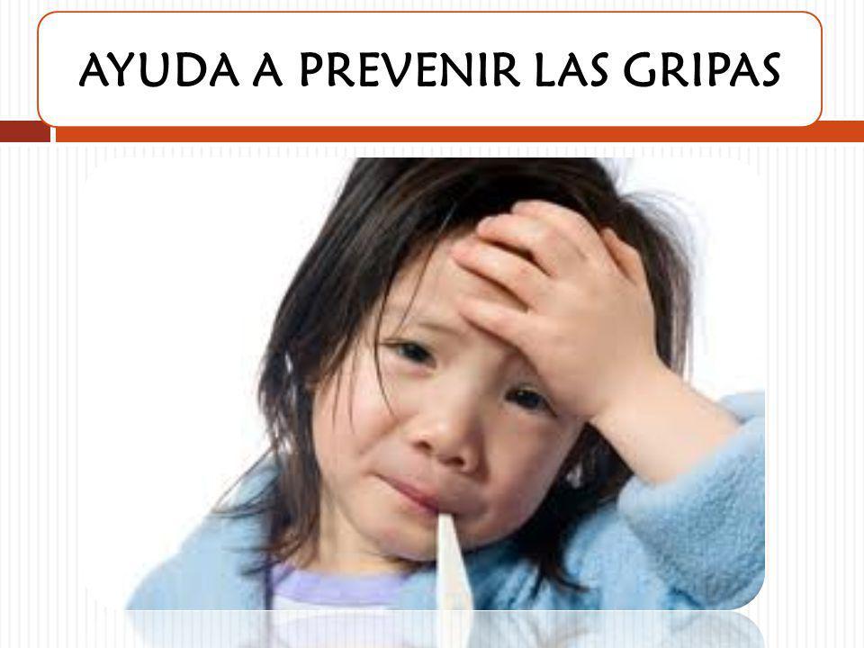 AYUDA A PREVENIR LAS GRIPAS